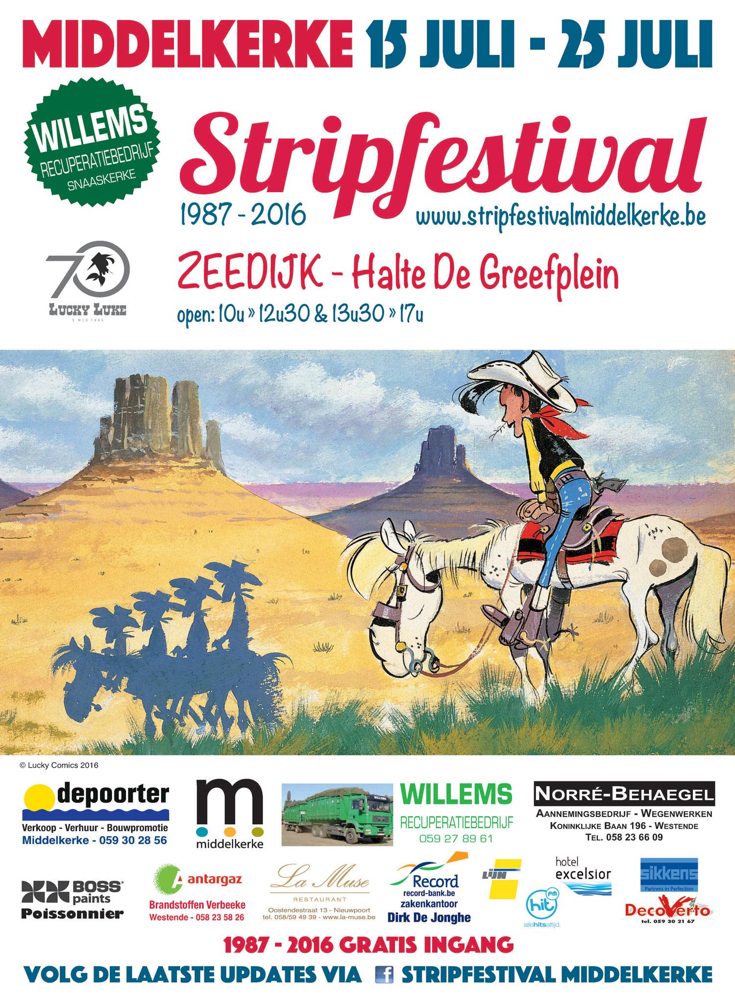 Stripfestival Middelkerke